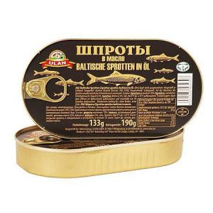 Šproti / Papaline pečeno dimljene u ulju 190g